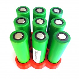 Battery Stand For Nine 18650 batteries