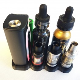 Sigelei kaos spectrum 24.5mm Atomizer 32/34/36mm Bottles & Battey Holder