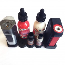 Smok G-priv and Wismec RX200 or DNA200 Twin Vape Stand