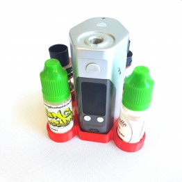 RX200/DNA200 Mini Vape Stand with 4 Atomizers
