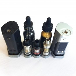 RX200/DNA200 Twin Vape Stand 50ml juice 3 Atomizers
