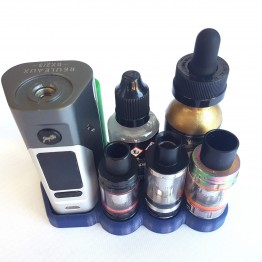 Wismec RX2/3 Without Extension Vape Stand 22mm Atty's 32mm Bottle's & Battries