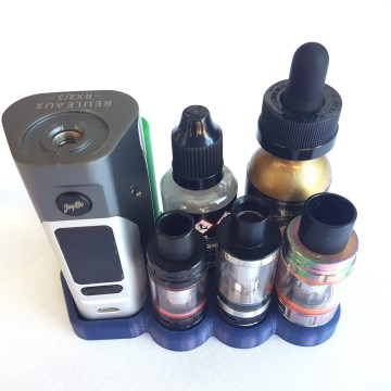 Wismec RX2/3 Without Extension Vape Stand 24mm Atty's 28mm Bottle's & Battries