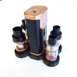 Wismec Predator 228 Vape Stand With Four 24.5mm Atomizer Holder